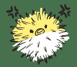 Creature of the aquarium sticker #15869502