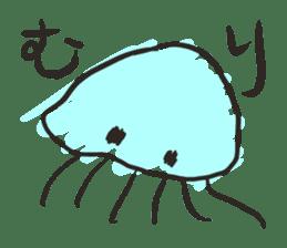Creature of the aquarium sticker #15869503
