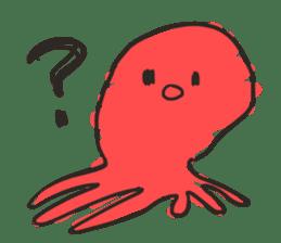Creature of the aquarium sticker #15869505