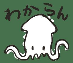 Creature of the aquarium sticker #15869511