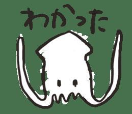 Creature of the aquarium sticker #15869512