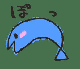 Creature of the aquarium sticker #15869513