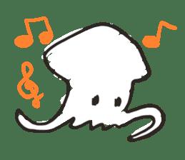 Creature of the aquarium sticker #15869521