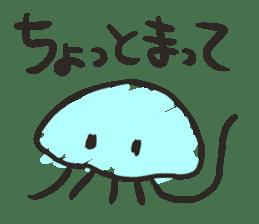 Creature of the aquarium sticker #15869522