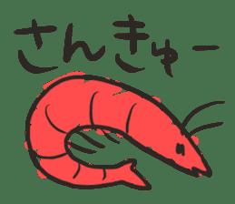 Creature of the aquarium sticker #15869523