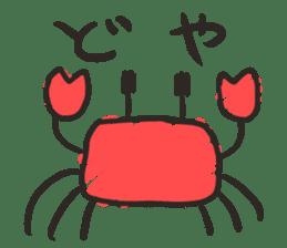 Creature of the aquarium sticker #15869526