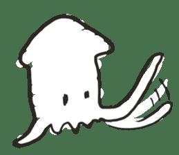 Creature of the aquarium sticker #15869528