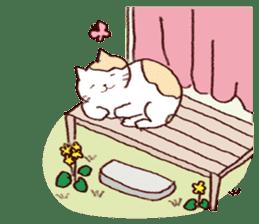 Sleep cat2 sticker #15872699