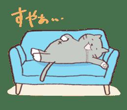 Sleep cat2 sticker #15872702