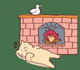 Sleep cat2 sticker #15872705