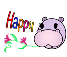 Daimon Hippo(EN) sticker #15875230