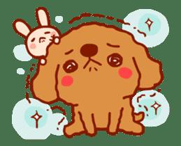 Red Poodle GA-BI sticker #15877732