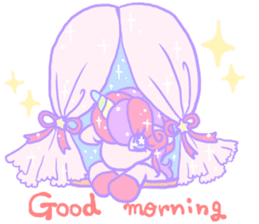 kirakira yumekawaii pastel unicorn. sticker #15879708