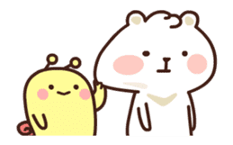 dou wha & mochi (In love) sticker #15883962