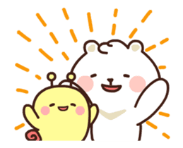 dou wha & mochi (In love) sticker #15883965
