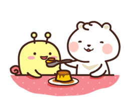 dou wha & mochi (In love) sticker #15883966