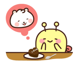 dou wha & mochi (In love) sticker #15883968