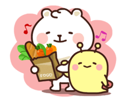 dou wha & mochi (In love) sticker #15883969