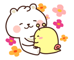 dou wha & mochi (In love) sticker #15883972