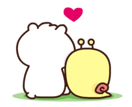 dou wha & mochi (In love) sticker #15883973