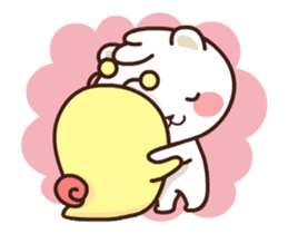 dou wha & mochi (In love) sticker #15883976