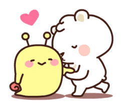 dou wha & mochi (In love) sticker #15883978