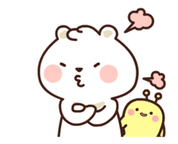 dou wha & mochi (In love) sticker #15883981