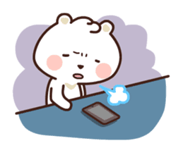 dou wha & mochi (In love) sticker #15883982