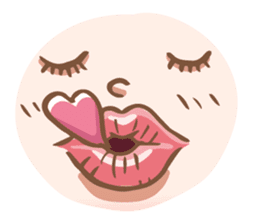 Lovely wife's life sticker #15884106