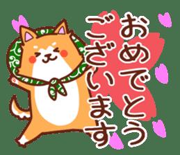 [Working dog] Shiba Inu 1 sticker #15884567