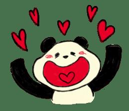 KAWAII papapanda sticker #15886201