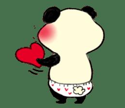 KAWAII papapanda sticker #15886214