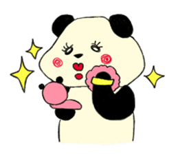 KAWAII papapanda sticker #15886217