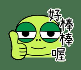 Bad-Mouth Turtle 2 sticker #15887984