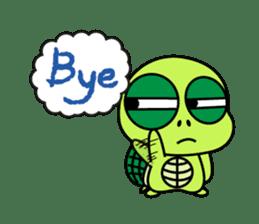 Bad-Mouth Turtle 2 sticker #15887993