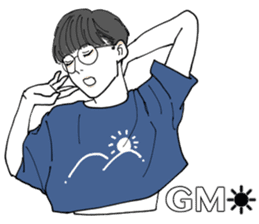 Genderless, androgynous sticker #15888818
