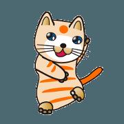 สติ๊กเกอร์ไลน์ 500 cats 1-428j-3