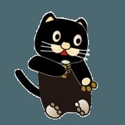 สติ๊กเกอร์ไลน์ 500 cats 5-027j-1