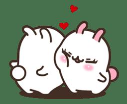 Cute Bunny Couple Ppoya & PpoPpo Ver.1 sticker #15897938