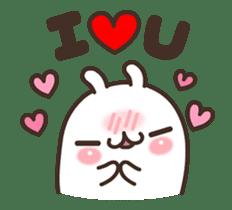 Cute Bunny Couple Ppoya & PpoPpo Ver.1 sticker #15897942