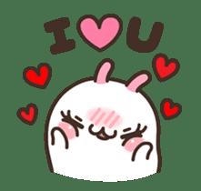Cute Bunny Couple Ppoya & PpoPpo Ver.1 sticker #15897943