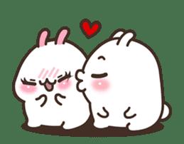 Cute Bunny Couple Ppoya & PpoPpo Ver.1 sticker #15897944