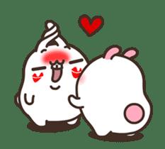 Cute Bunny Couple Ppoya & PpoPpo Ver.1 sticker #15897945