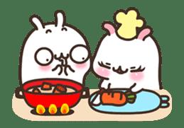 Cute Bunny Couple Ppoya & PpoPpo Ver.1 sticker #15897947