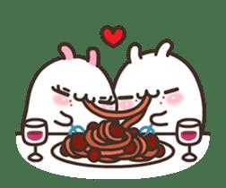 Cute Bunny Couple Ppoya & PpoPpo Ver.1 sticker #15897948