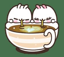 Cute Bunny Couple Ppoya & PpoPpo Ver.1 sticker #15897950