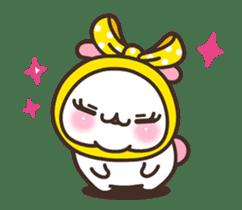 Cute Bunny Couple Ppoya & PpoPpo Ver.1 sticker #15897952