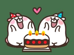 Cute Bunny Couple Ppoya & PpoPpo Ver.1 sticker #15897954