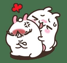 Cute Bunny Couple Ppoya & PpoPpo Ver.1 sticker #15897955