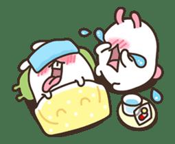 Cute Bunny Couple Ppoya & PpoPpo Ver.1 sticker #15897956